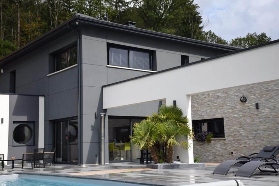 Bardage bois Maison – Vosges (88)