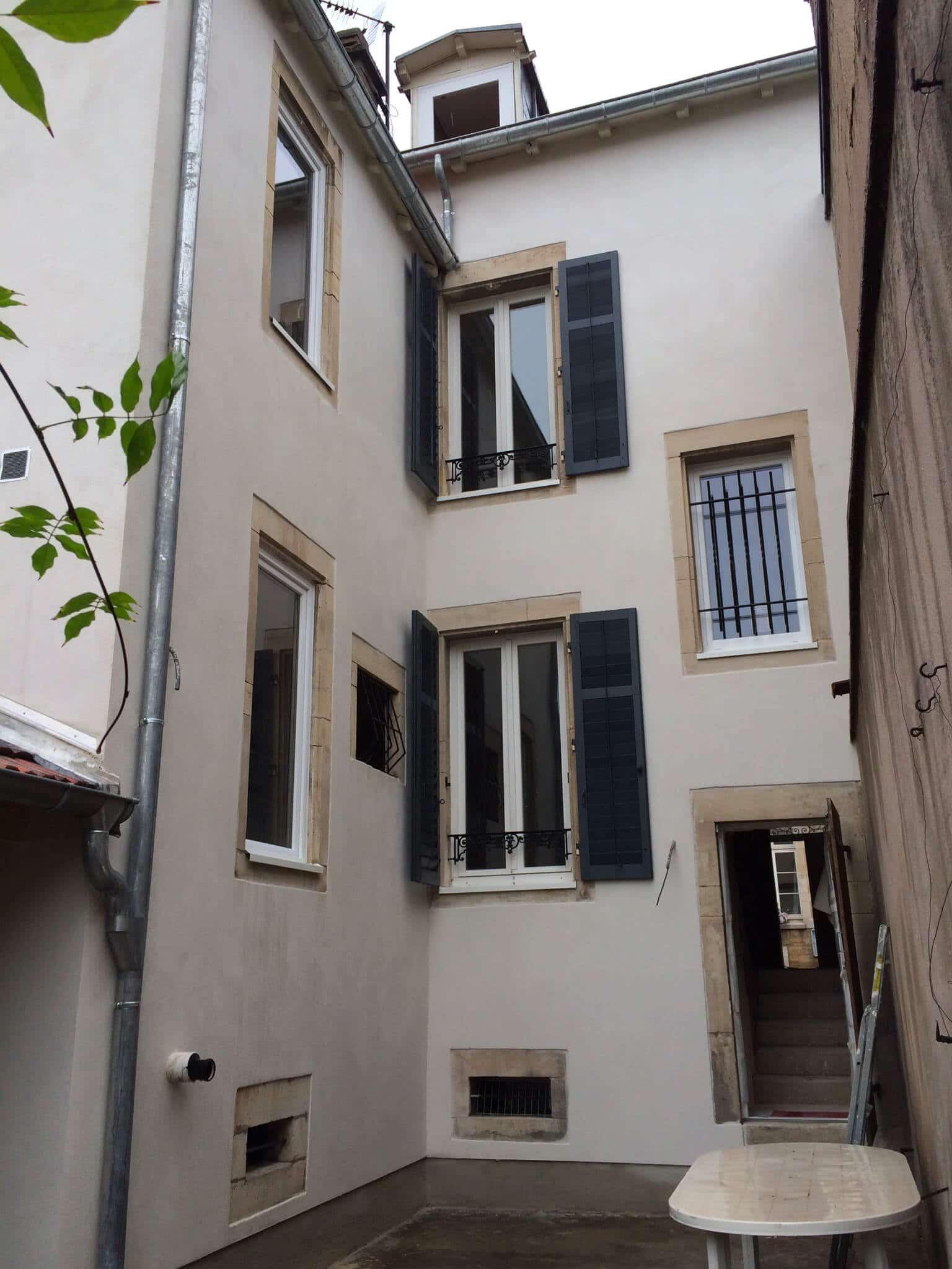 Ravalement façades immeuble – Nancy (54 – Meurthe-et-Moselle)