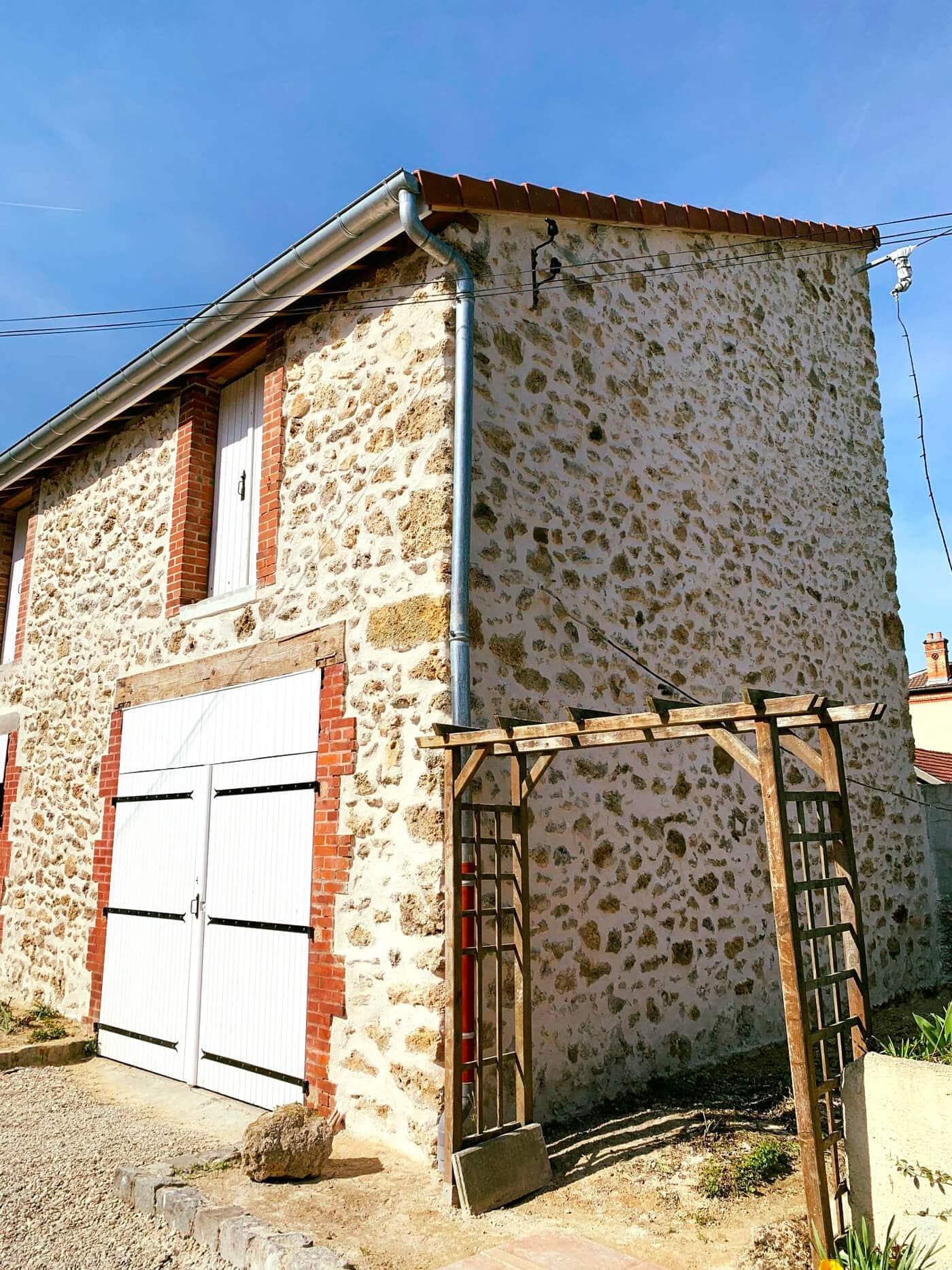 Restauration des façades en pierres apparentes