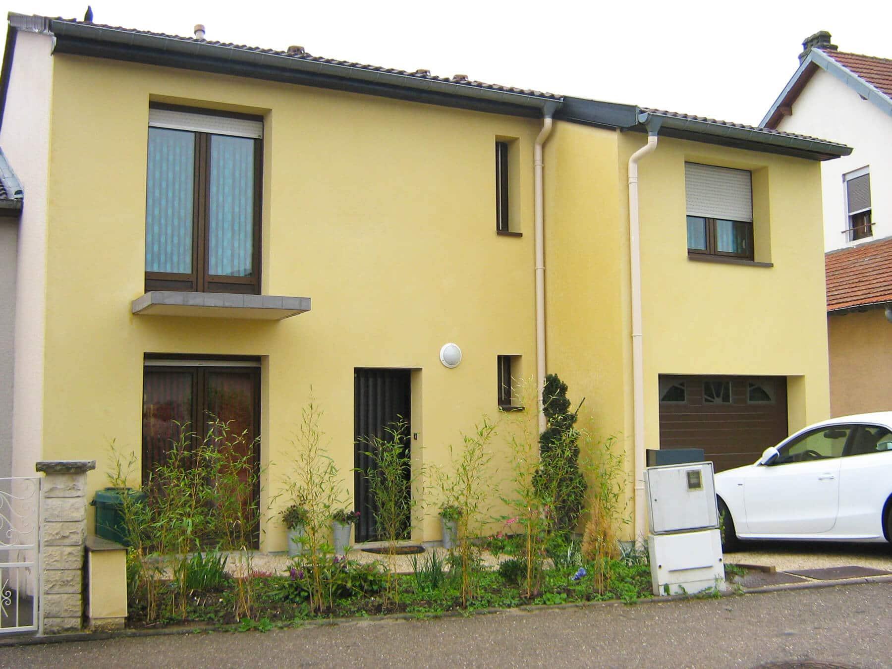 Isolation thermique extérieure maison Heillecourt 54