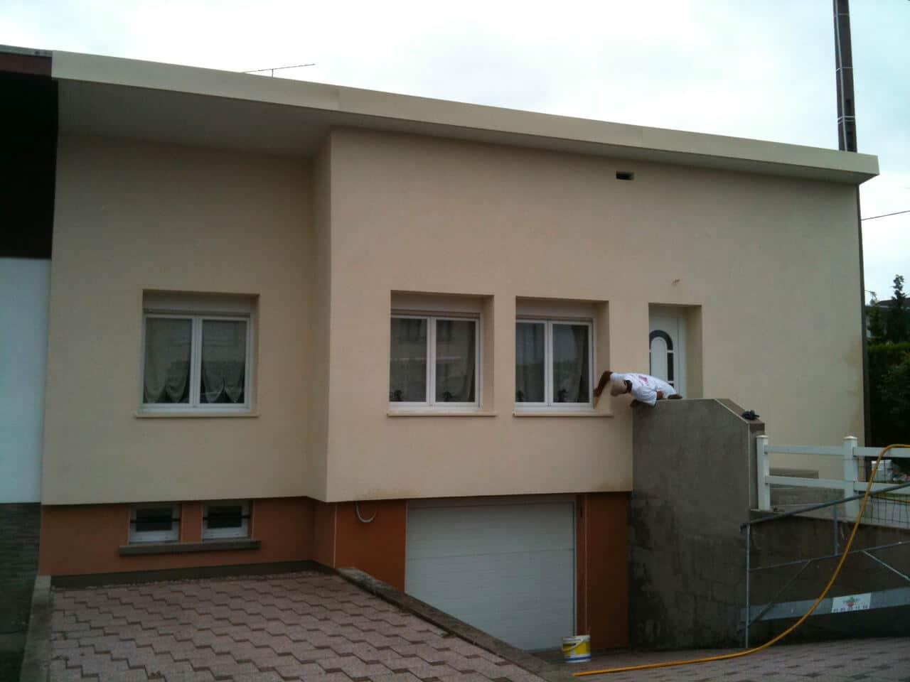 Isolation extérieure maison Dieulouard (54)