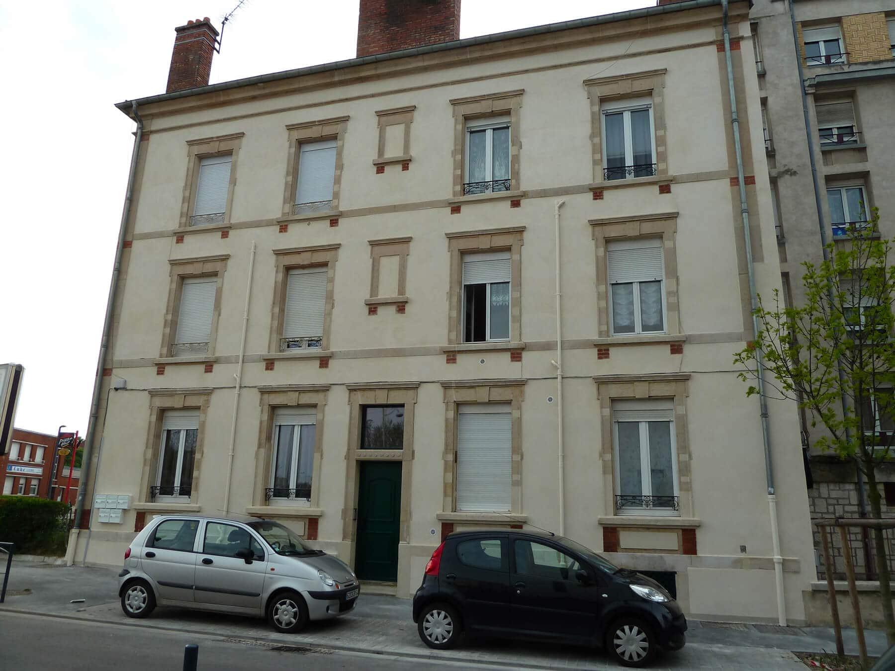 Ravalement façade copropriété à Nancy 54