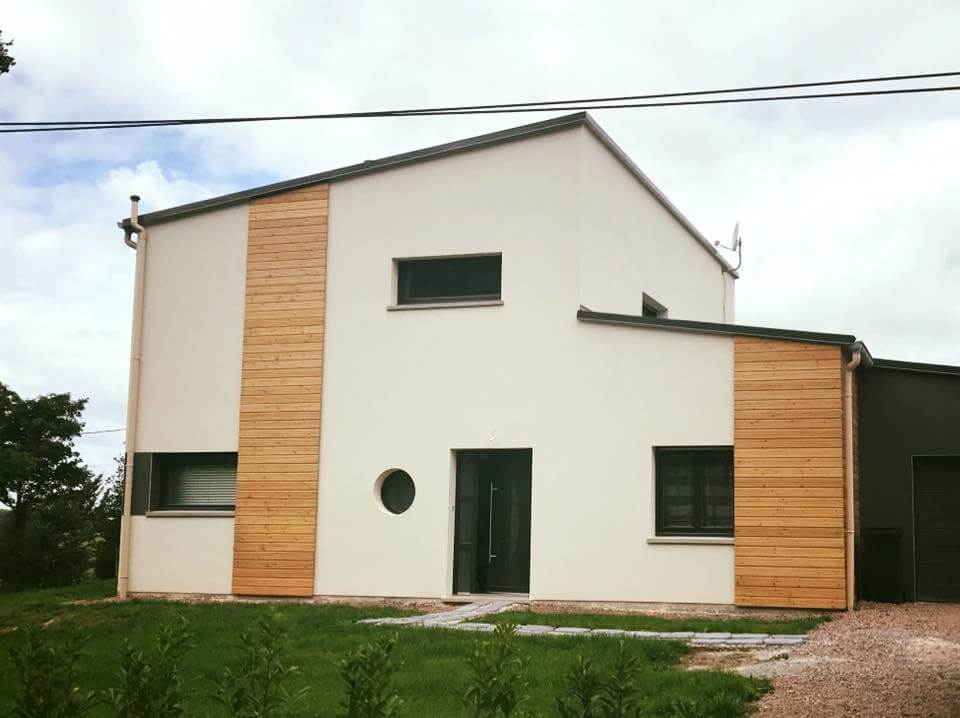 Ravalement façade – Harol (88 – Vosges)