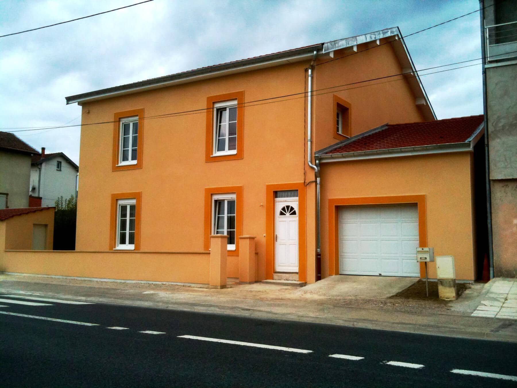 Rénovation façades maison à Bainville-sur-Madon (54 Meurthe-et-Moselle)