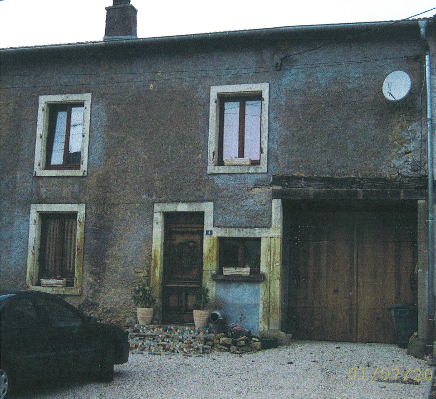 Rénovation façades maison à Mairy Mainville (54)
