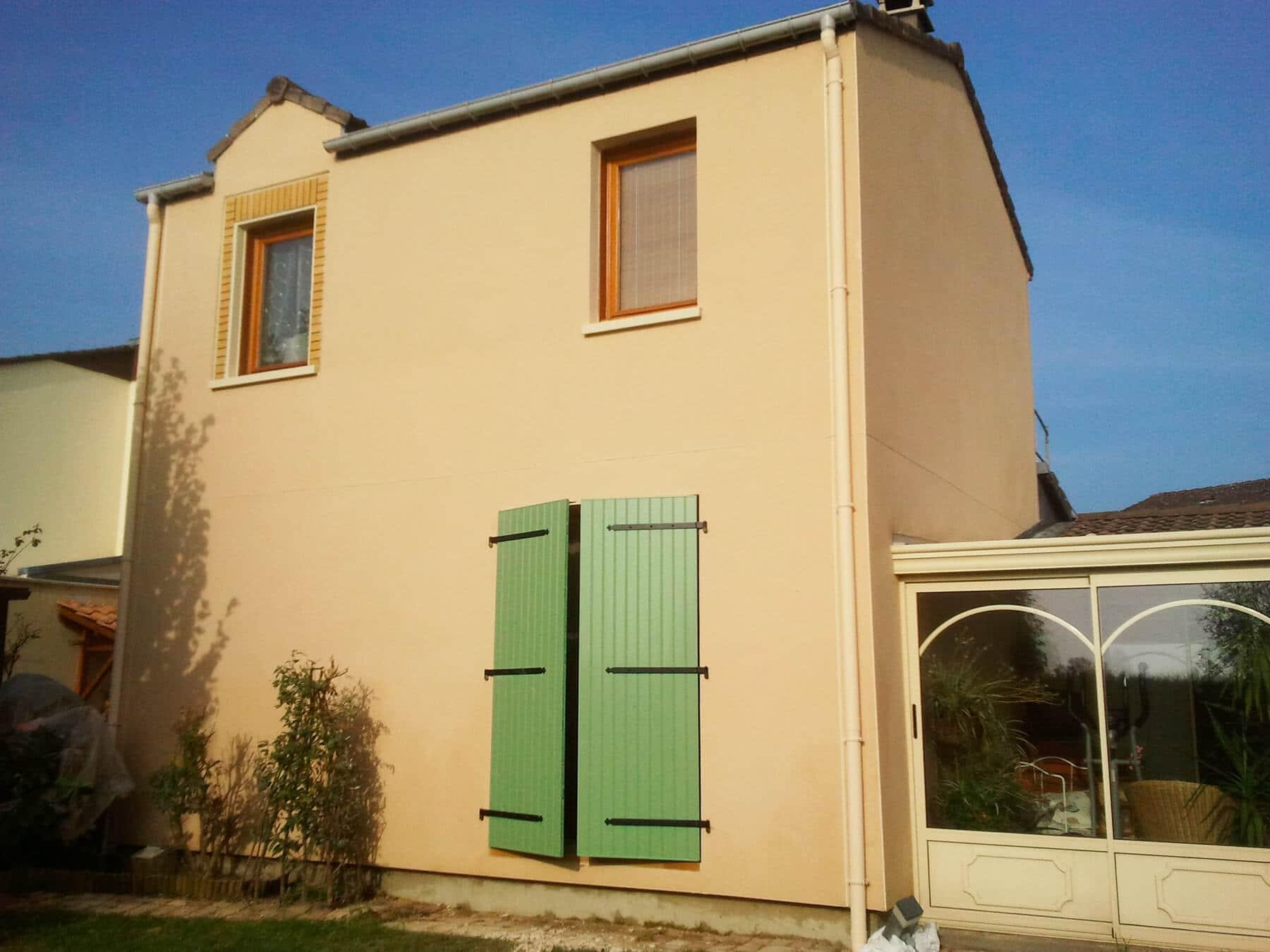 Ravalement façade maison Ludres près de Nancy