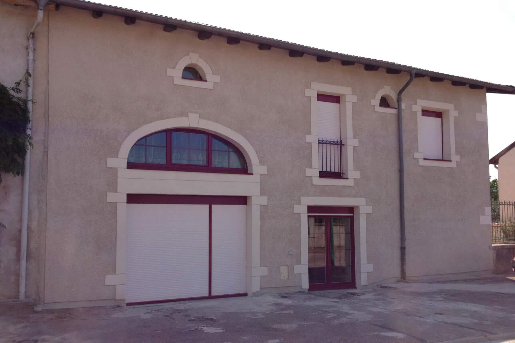 Ravalement façade maison Tonnoy près de Nancy