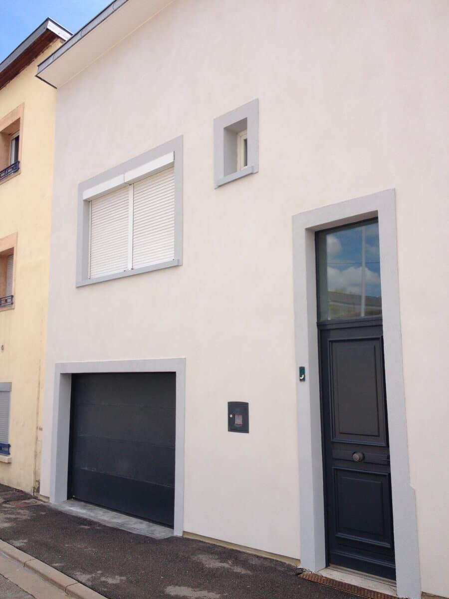 Rénovation de façade, Saint-Max (54 Meurthe-et-Moselle)