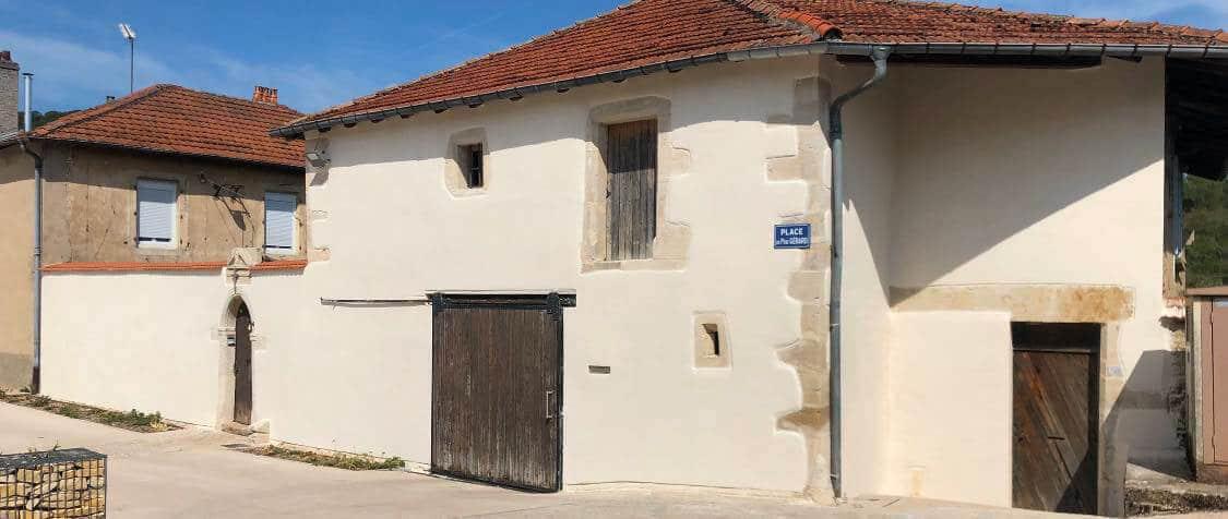 Réfection d'un Presbytère à Bouxières-aux-chênes