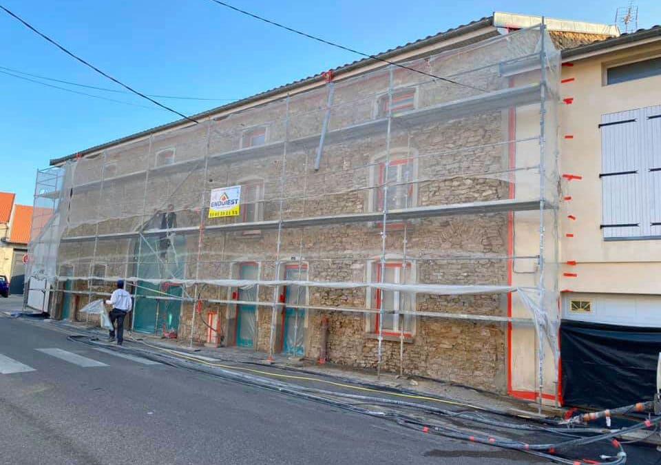 Rénovation d'une bâtisse pour la mairie d'Eulmont