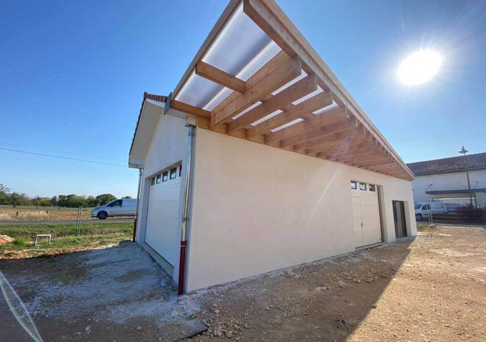 Rénovation des façades d'un local technique