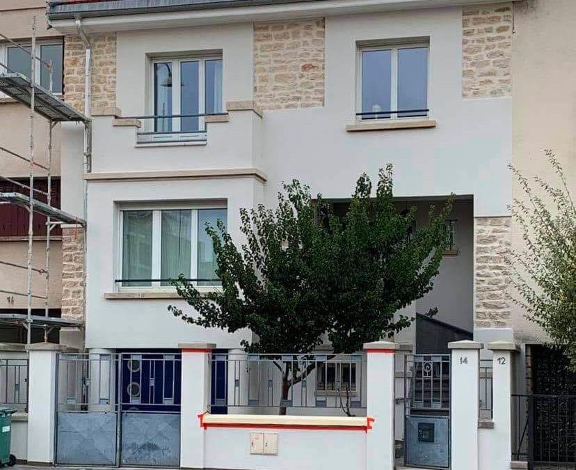 Ravalement de façades avec pierres apparentes à Nancy