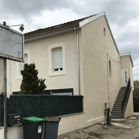 Ravalement de façades anciennes