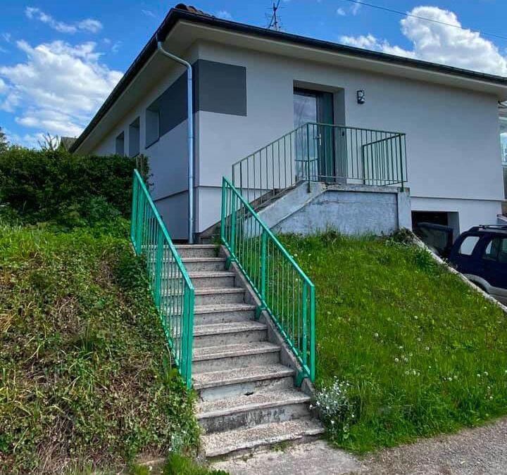 Isolation extérieure d'une ancienne maison dans les Vosges